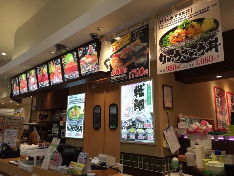 ぐるめ丼亭ラゾーナ川崎店